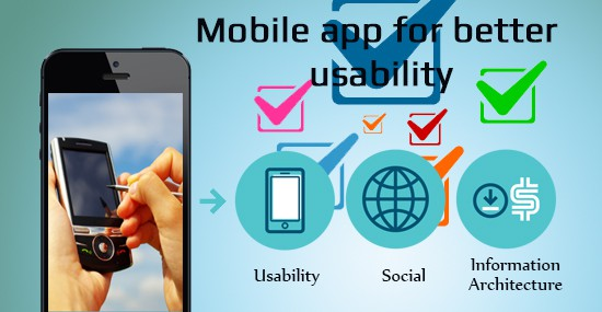Fine tuning the mobile app for better usability