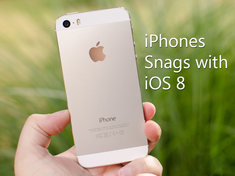 Apple's Answer to iPhones Snags with iOS 8