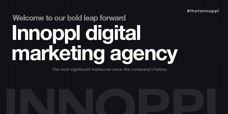 Welcome to our bold leap forward - Innoppl digital marketing agency